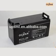 MSDS 12v 100ah solar battery