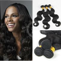 Top selling Body Wave 100% Human peruvian virgin hair wavy