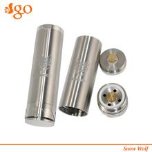 Agotech sx200 chip $10 intelligent electronic cigarette mod fat snow wolf 26650 mod alibaba dot com