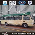 passageiros do assento 18 diesel dongfeng mini ônibus dimensões