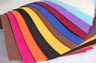 High quality needle punched polyester felt rug for non woven fabric
