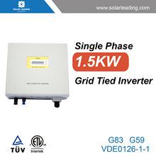 High efficiency inverter 220v to 380v for on grid solar system