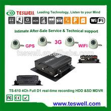 TESWELL TS-120 vehicle / car mobile dvr camera