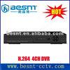 BESNT h.264 4ch standalone CCTV dvr, 4ch security video dvr BS-T04A