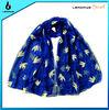 fashion bird printed scarf and shawl wholesale