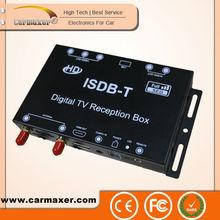 Carro ISDB-T hi - tecnologia HD maxfly receptor de satélite digital para a américa do sul