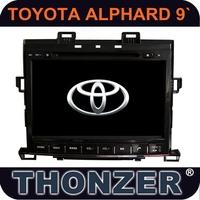 CAR GPS DVD for 2014 Toyota Alphard /Toyota Vellfire