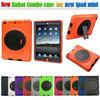360 rotate kickstand rotation silicone combo case for iPad mini 2