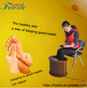 office use health care wooden professional foot personal massager