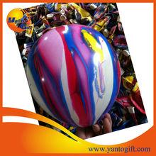 Promotional 10 inch Rainbow latex balloons