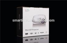 Cheapest led mini projector 480*320 resolution led lamp TV USB VGA AV SD all ports for big screen movie enjoyment