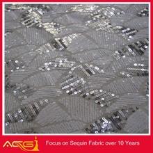 Вышивка блестки кружевной ткани масштаб сетки рук-вышитый бисером винтаж рождественские декоративные звезда