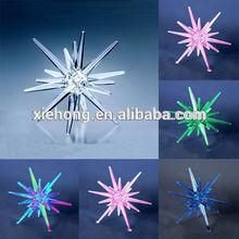 led lighting star shape christmas ornament for household decoration