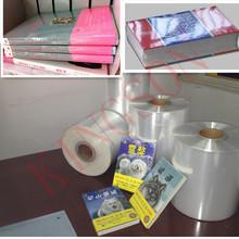 pof polypropylene heat shrink packing film 20 mic