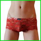 sex men underwear tight underwear red boxer briefs for boy