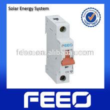 Sun solar panel 24V CE&ISO9001 1P DC MCB
