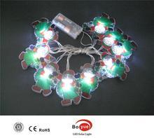 2014 new design 10 LED battery light PVC decoration light christmas tree light for christmas