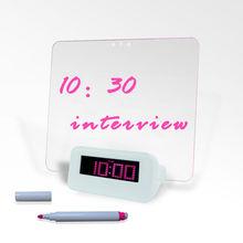 home design digital running alarm clock