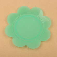 clear plastic party plates