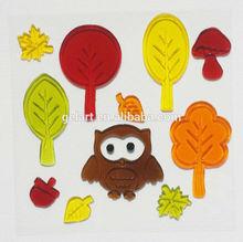 Tree Wall Art Decal jelly windows stickers Gel Clings sticker maker