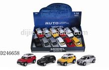 1:32 music light alloy sport utility vehicle (12PCS/Box)/ alloy toys