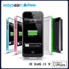 2400mAH External Protective Extended Battery Case with Built-in Kickstand for Apple iPhone 5 and iPhone 5s