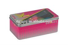 Custom mobile phone tin case
