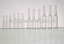 1ml 2ml 3ml 5ml 10ml 20ml pharmaceutical glass ampoule