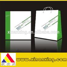 Custom Printed Paper Shopping Bag&Brown Kraft Paper Bags with Handle