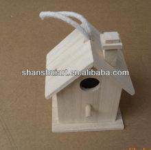 Customized designs wooden bird house
