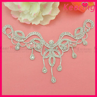 Wholesales high end China Fashion rhinestone designs for clothing WRP-006