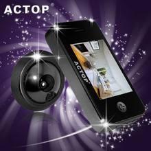 2014 motion hotel digital door viewer,install video door phone,door viewer peephole