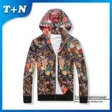 Tonton fashionwear OEM 100 polyester sublimation impression hip hop hoodies