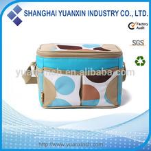 New product fashion 600D+polyester+aluminum foil picnic cooler bag