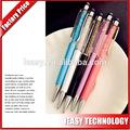 nouvelle stylus touch pen écran bling cristal de fantaisie stylo à bille