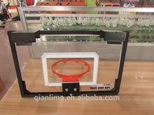 trampoline baby basketball hoop