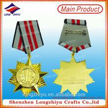 Engraving gold medal wholesale trophy parts