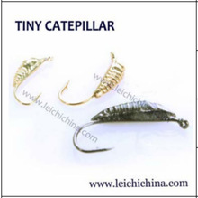 Tiny Catepillar Tungsten Ice Jig