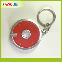 hot sales high quality flashing toyota keychain