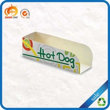 2014 hot god custom printed recycled disposable hot dog paper box