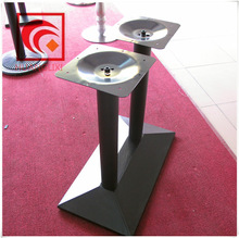 foshan factory direct sale, Cast iron furniture legs ,table for four