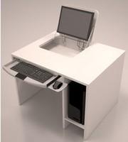 cheap price!Flip top computer desk/wooden Executive desk/Boss desk