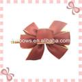 Color de lujo del satén de embalaje arco de la cinta