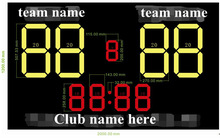 led football substitute board, soccer substitution board led scoreboard