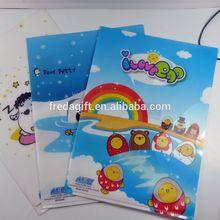 L-shape Full color Printing high quality pvc file/plastic file folder