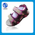 melhor venda novo design crianças meninas sandálias flat sandália design