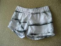 Tie Dye Shorts Men New 2014 Women Mini High Waist Shorts Fashion Flower Pattern Floral Elastic Summer Cotton Shorts