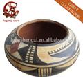 chinês cerâmica cerâmica artesanal pote vintage