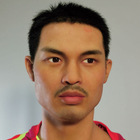resin celebrity sculpture of world famous male china badminton player Lin Dan wax figure for museum