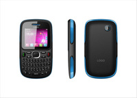 Low price China mobile phone D101 4 Bands Dual SIM Dual standby feature phone